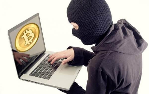 bitcoin kradzież