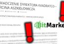 Bitmarket.pl i Oświadczenie dyrektora – Marcina Aszkiełowicza